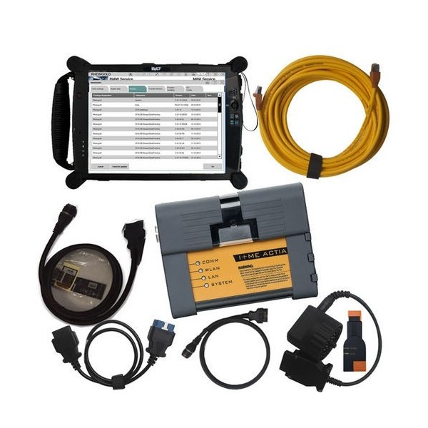 BMW ICOM A2+B+C (with 2019.09 Software) with EVG7 Diagnostic Controller Tablet PC 4GB DDR