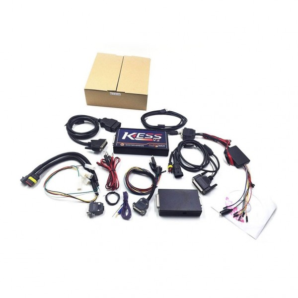 NEW KESS V2 OBD2 Manager FW v4.036 - SW v2.12  Latest Tuning Kit No Token Limitation