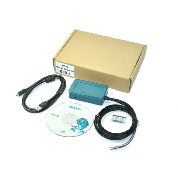 New Adblue Emulator 8-in-1 V3 for Mercedes MAN Scania Iveco DAF Volvo Renault and Ford