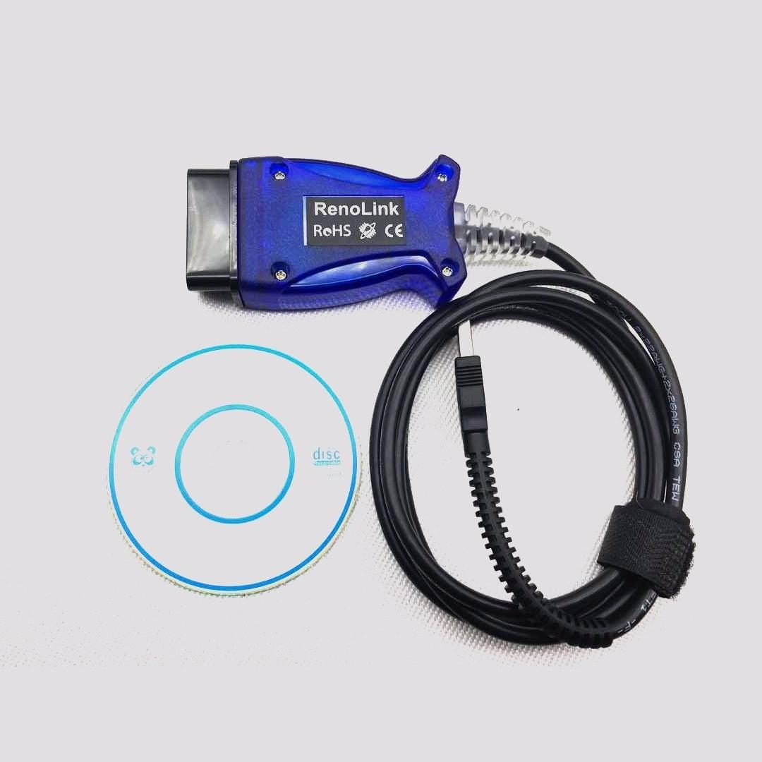 Renolink OBD2 Renault ECU Programmer ( ECU-Airbag- Key )