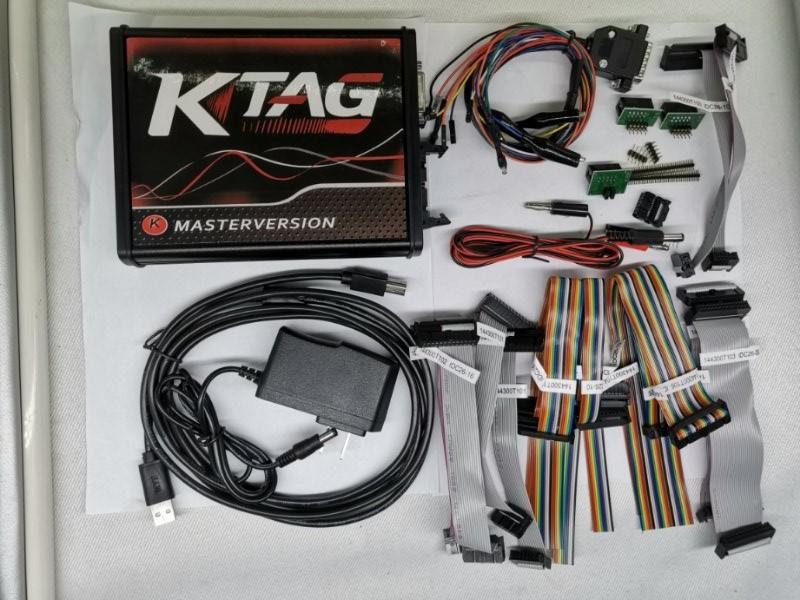 2019 KTAG K-TAG FW v7 020 - SW v2 31 ECU Programming