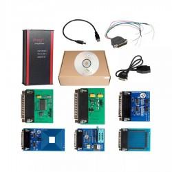 V82 Iprog+ Pro Car Key Programmer Odometer Correction Airbag Reset Tool