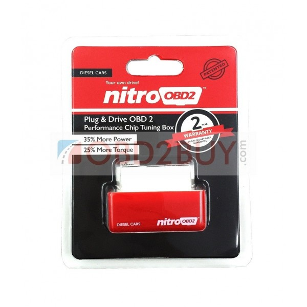 NitroOBD2 Diesel Chip Tuning Box Plug and Drive 10 pcs