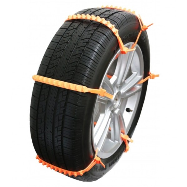 ZipClipGo Cleated Tire Traction Device for Cars, Vans and Light Trucks