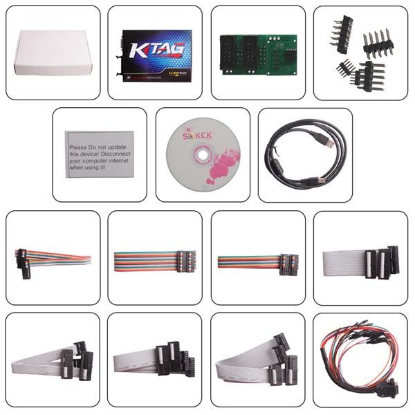 Chip tuning KTAG K-TAG ECU Programming Tool ktag k-tag obd2 OBDII sw v2.15 hw 6.070 ecu flasher tools ecu tool obd ii