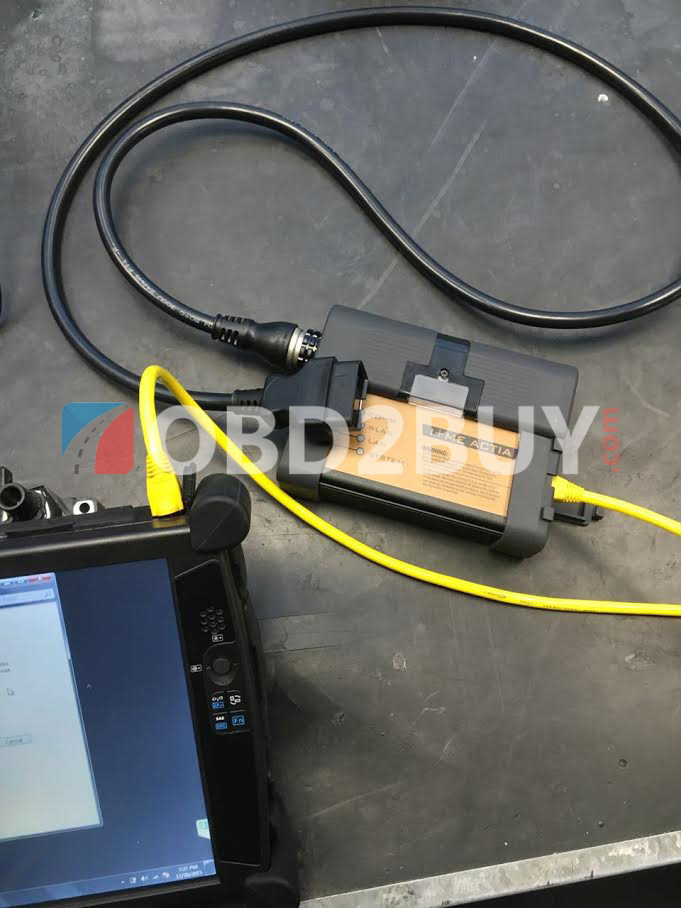 bmw icom + evg7 real photos