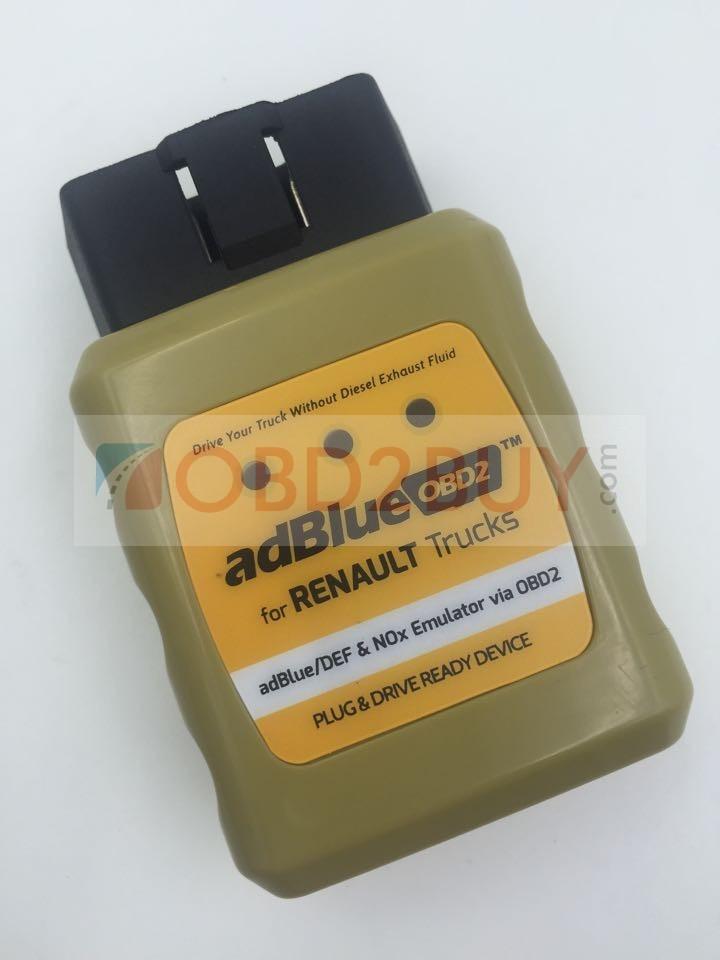 adBlueOBD2 RENAULT adBlue/DEF and NOx Emulator via