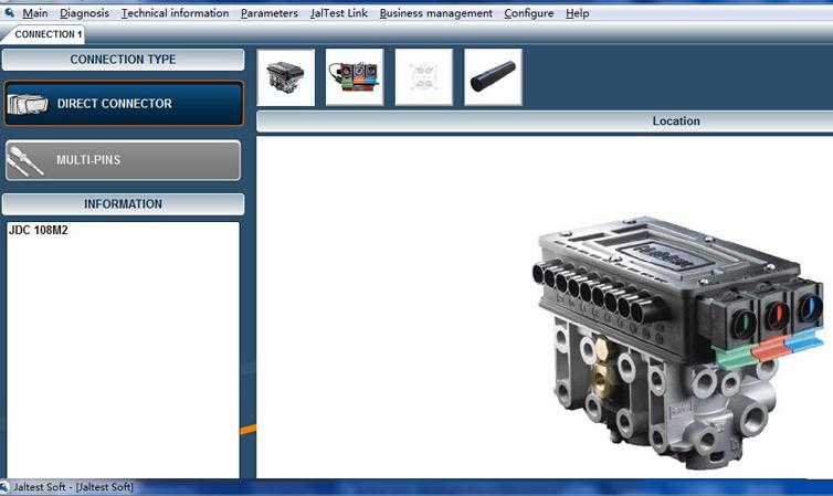 Jaltest Multibrand Diagnostics Global Solution Truck Diagnosis Scanner V12.1